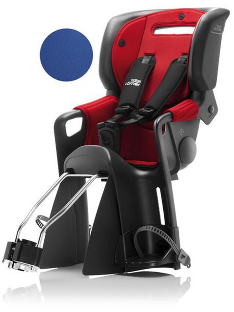 Britax Römer Jockey²Comfort fietsstoeltje met 2 bekledingen rood/blauw
